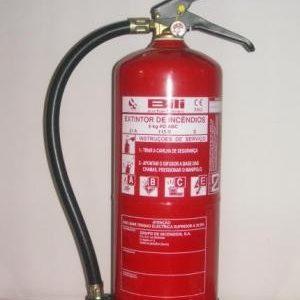 Extintores pó ABC – 06 KG – 3–A -20–BC