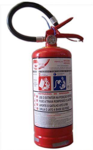 Extintores pó BC -4 KG